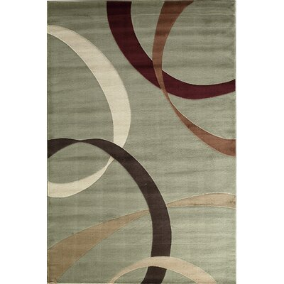 Jordan Light Green Area Rug Rug Size: 2 x 211