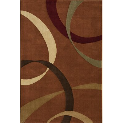 Jordan Red Area Rug Rug Size: 53 x 710