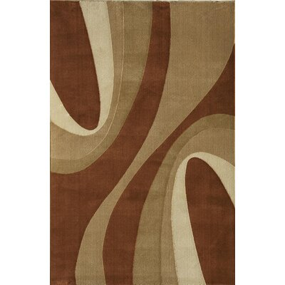 Jordan Red/Beige Area Rug Rug Size: 311 x 53