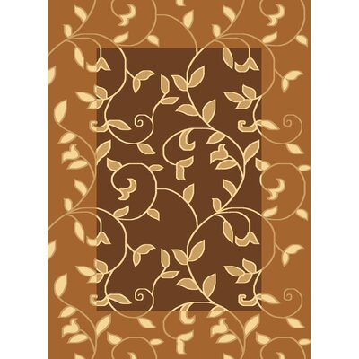 Jordan Brown Area Rug Rug Size: 710 x 1010