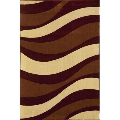 Jordan Brown Area Rug Rug Size: 53 x 710