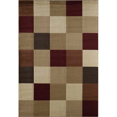 Allston Natural/Brown Area Rug Rug Size: Runner 23 x 710