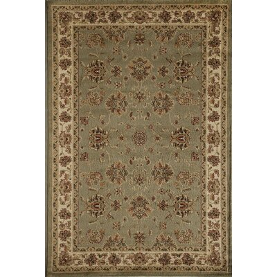 Berghoff Green Area Rug Rug Size: 67 x 96