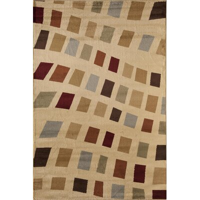 Allston Natural/Brown Area Rug Rug Size: Rectangle 311 x 53