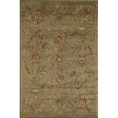 Allston Green Area Rug Rug Size: Rectangle 53 x 710