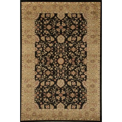 Berghoff Black Area Rug Rug Size: 67 x 96
