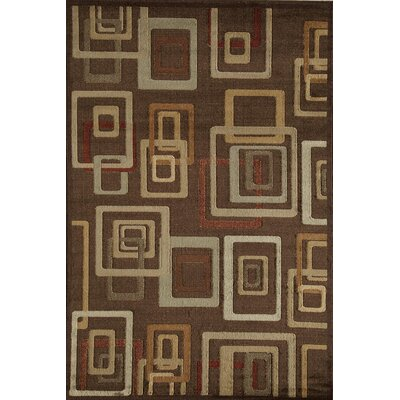 Allston Brown Area Rug Rug Size: Runner 23 x 71