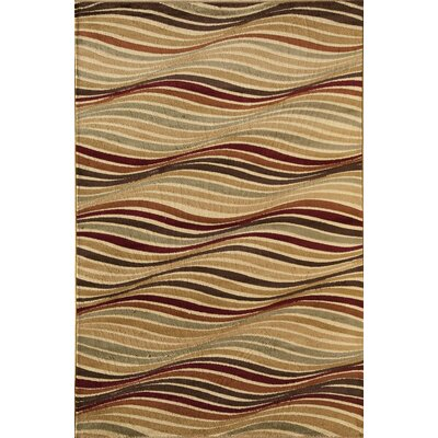 Allston Beige Area Rug Rug Size: Rectangle 53 x 710