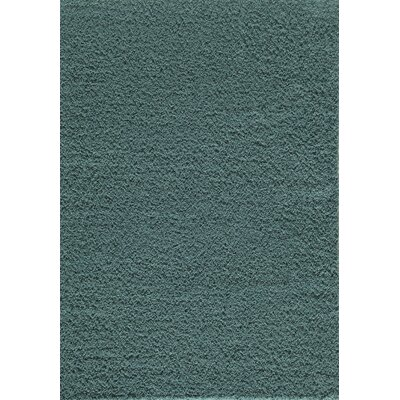 Cambridge Blue Area Rug Rug Size: 53 x 76
