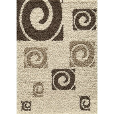 Cambridge Tan Area Rug Rug Size: 53 x 76