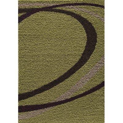 Cambridge Green Area Rug Rug Size: 66 x 96