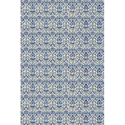 Grady Blue/Ivory Area Rug Rug Size: 710 x 1010