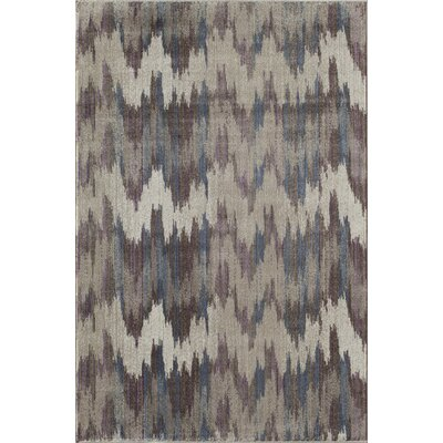 Remington Gray/Ivory Area Rug Rug Size: 2 x 3