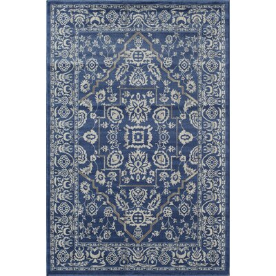 Remington Blue Area Rug Rug Size: 710 x 1010