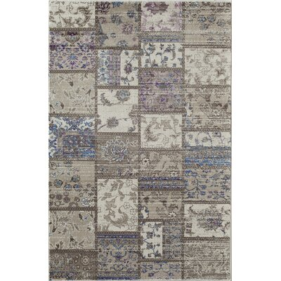 Remington Gray/Blue Area Rug Rug Size: 710 x 1010