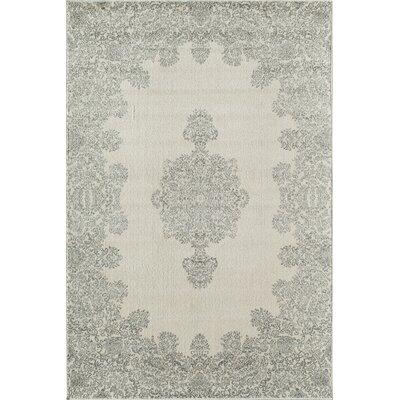 Grady Gray/Ivory Area Rug Rug Size: 710 x 1010