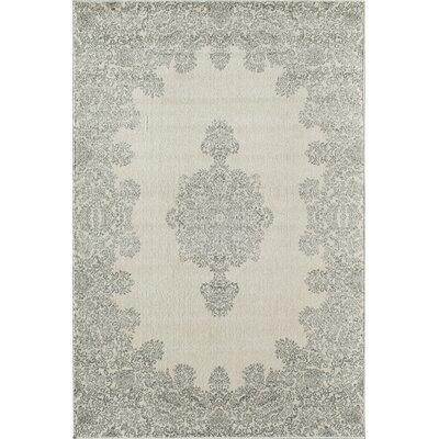 Grady Gray/Ivory Area Rug Rug Size: Runner 2'3