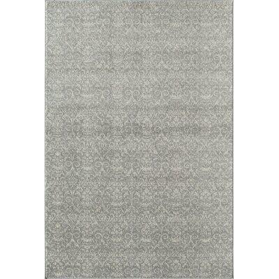 Grady Grey/Ivory Area Rug Rug Size: 2 x 3