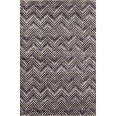 Remington Gray/Blue Area Rug Rug Size: 710 x 1010