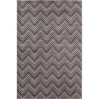 Remington Gray/Blue Area Rug Rug Size: 53 x 710