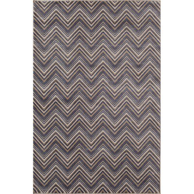 Remington Gray/Blue Area Rug Rug Size: 2 x 3