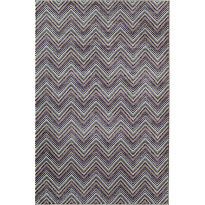 Remington Grey Area Rug Rug Size: 710 x 1010