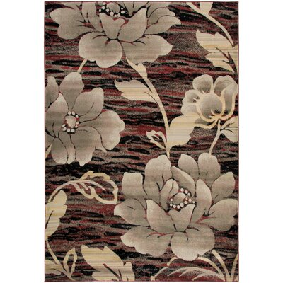 Culver Red Area Rug Rug Size: Rectangle 710 x 1010