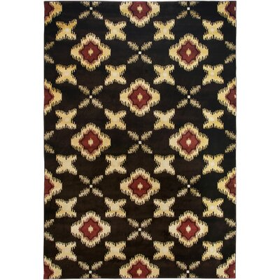 Culver Brown Area Rug Rug Size: 53 x 77
