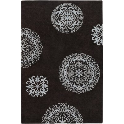 Greyson Hand-Tufted Dark Grey Area Rug Rug Size: Rectangle 2 x 3