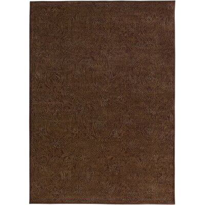 Lucas Hand-Woven Burgundy Area Rug Rug Size: Rectangle 910 x 1210