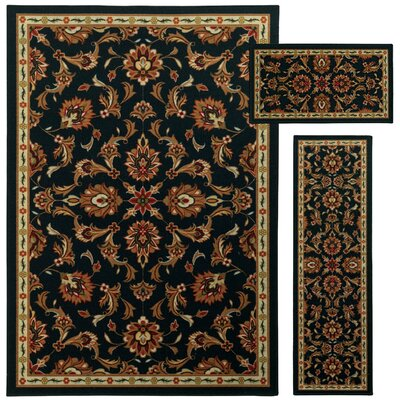 Westview 3 Piece Brown/Beige Area Rug Set