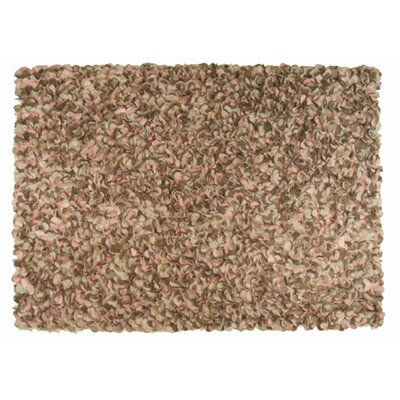 Nema Hand-Hooked Brown Area Rug Rug Size: Rectangle 8 x 11