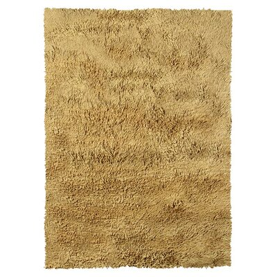 Liam Hand-Hooked Dijon Area Rug Rug Size: Rectangle 53 x 77