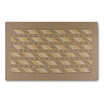 Griffith Hand-Woven Brown Area Rug Rug Size: 8 x 11