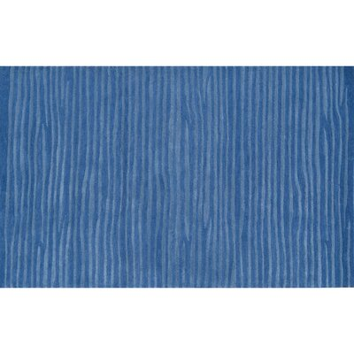 Roches Hand-Tufted Blue Area Rug Rug Size: Rectangle 5 x 76
