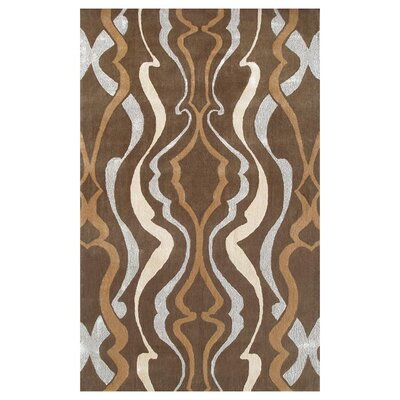 Lafayette Hand-Tufted Brown/Tan Area Rug Rug Size: 10 x 13