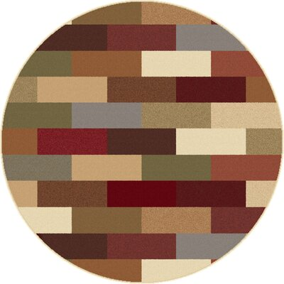 Lavalley Multi Area Rug Rug Size: Round 710