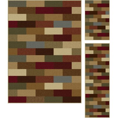 Lavalley Multi Area Rug Rug Size: 3 Piece Set