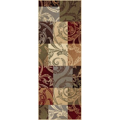 Barbarra Multi Area Rug Rug Size: Runner 2 x 8
