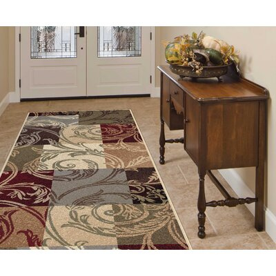 Barbarra Multi Area Rug Rug Size: Runner 27 x 73