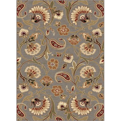 Barbarra Gray Area Rug Rug Size: Rectangle 710 x 103