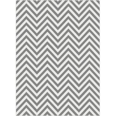 Brookville Gray Area Rug Rug Size: 710 x 103