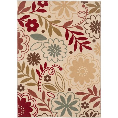 Ulster Beige Area Rug Rug Size: Rectangle 76 x 910