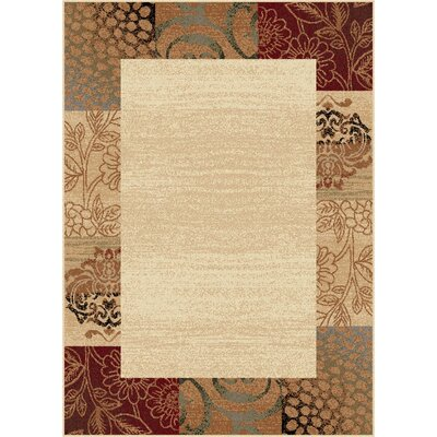 Wilcox Ivory Area Rug Rug Size: Rectangle 76 x 910