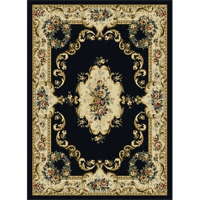 Grange Charcoal Area Rug Rug Size: Rectangle 5 x 7