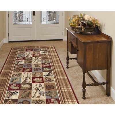 Clifford Brown Area Rug Rug Size: Runner 3 x 8