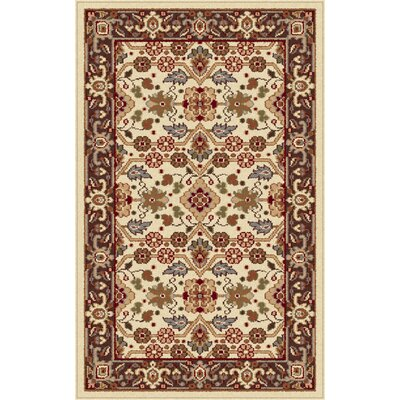 Richmond Ivory/Beige Area Rug Rug Size: 2 x 3