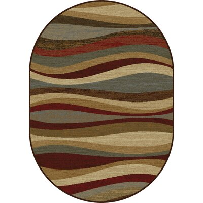 Willowridge Multi Area Rug Rug Size: Oval 53 x 73
