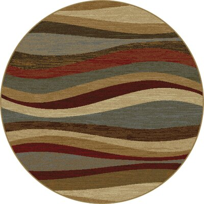 Willowridge Multi Area Rug Rug Size: Round 53