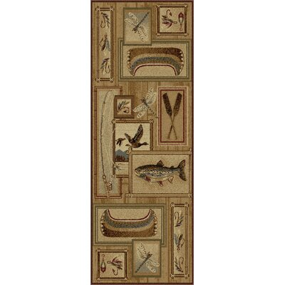 Irving Ivory Area Rug Rug Size: 710 x 103